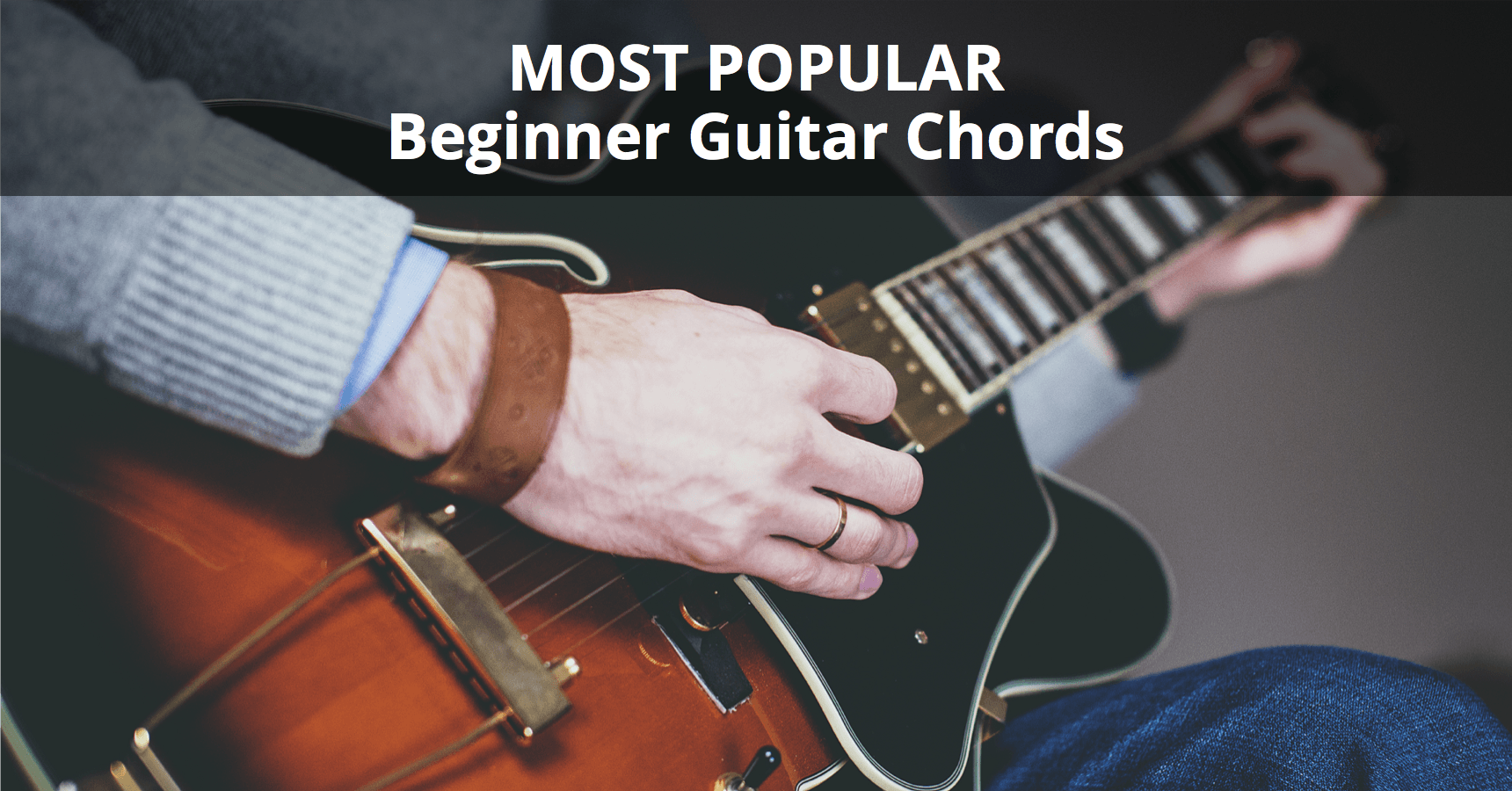 Most Popular Beginner Guitar Chords Chart Musician Tuts How To Read Chord Diagram D