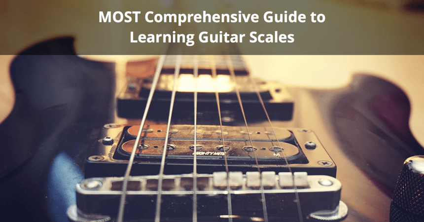 Complete Mode Diagrams For Seven String Guitar Basic Scale
