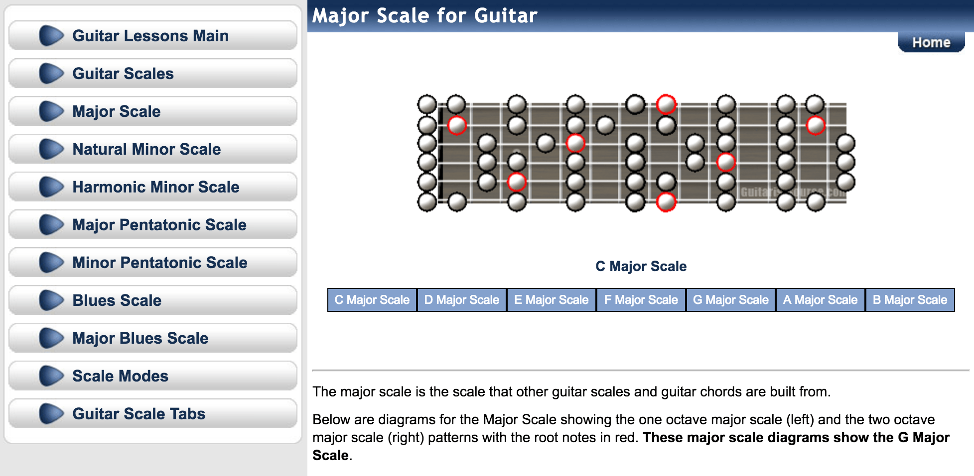 guitarist source scale tool