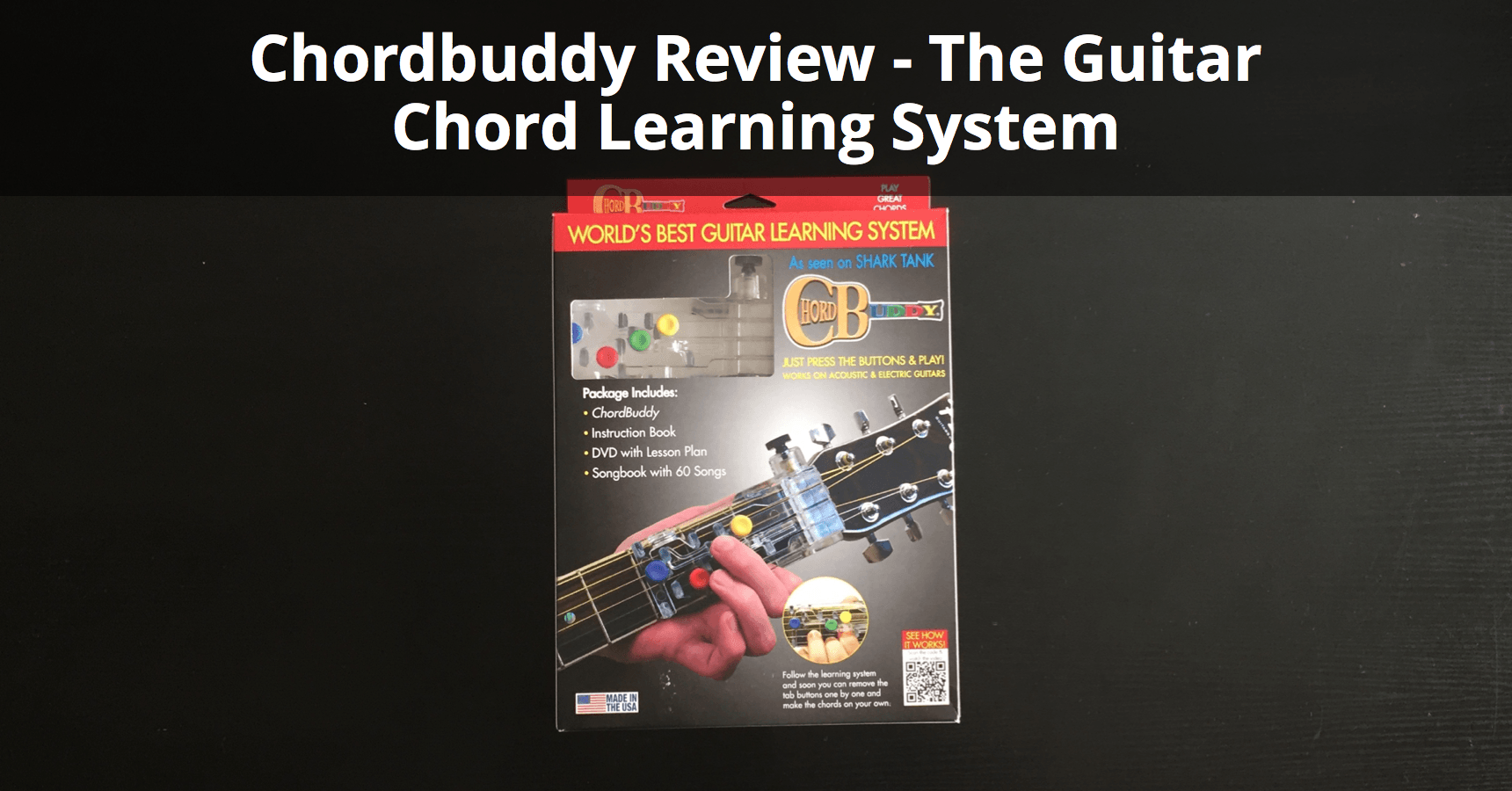 Chordbuddy Review The Guitar Chord Learning System Musician Tuts