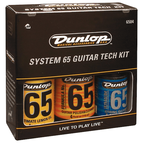 dunlop guitar care kit