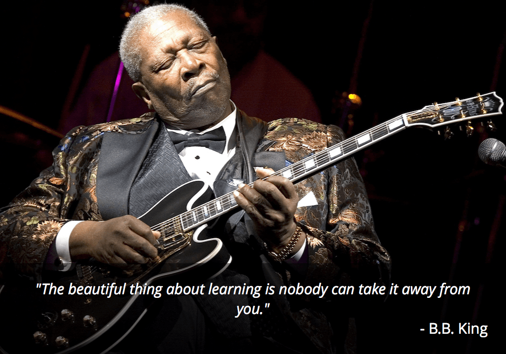 bb king guitar quote