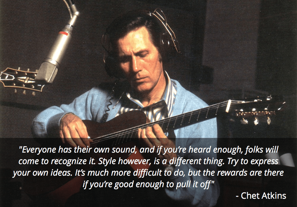 chet atkins guitar quote