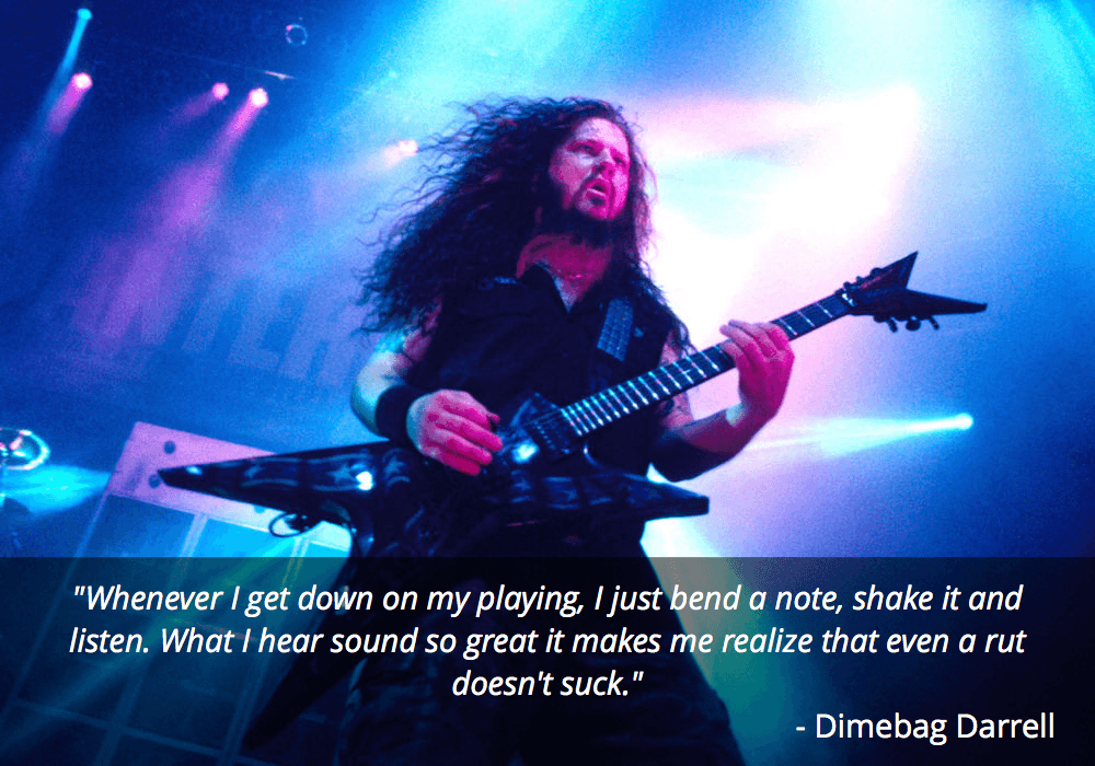 dimebag darrell guitar quote