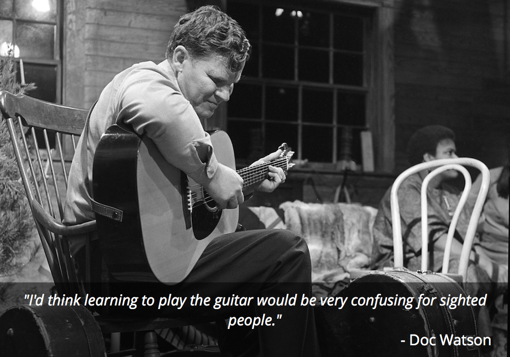 doc watson guitar quote
