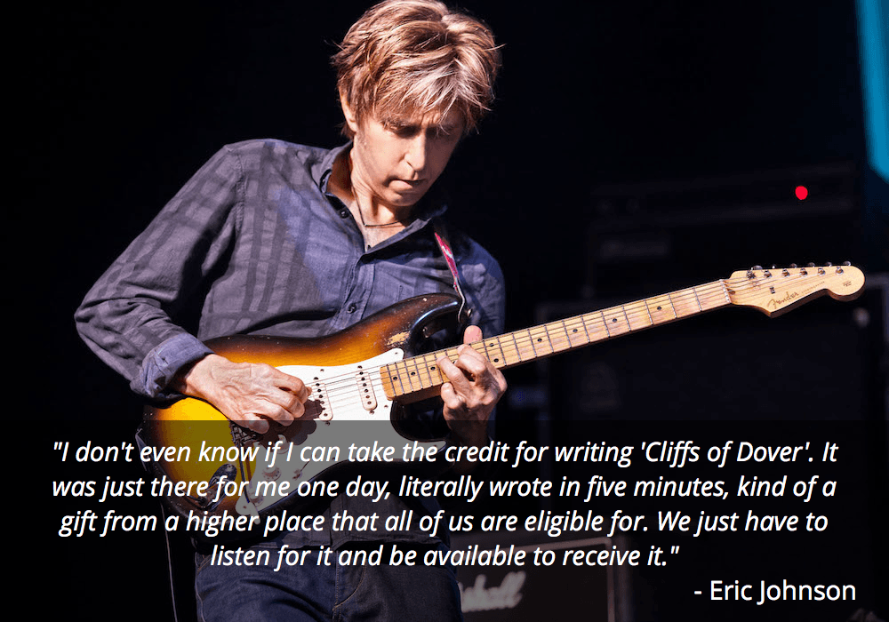 eric johnson guitar quote
