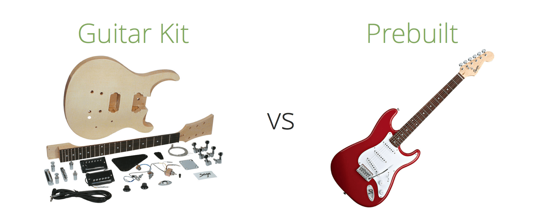 guitar kit vs prebuilt guitar