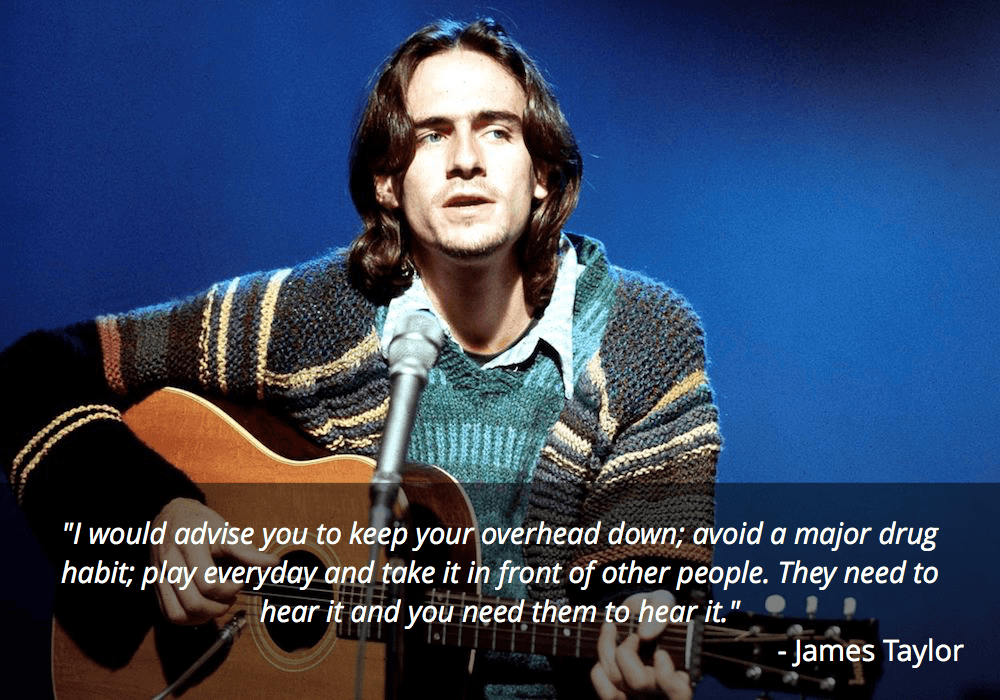 james taylor guitar quote