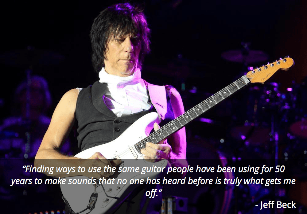 jeff beck guitar quote