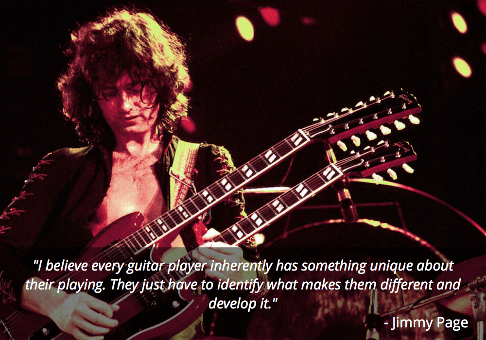 jimmy page guitar quotes