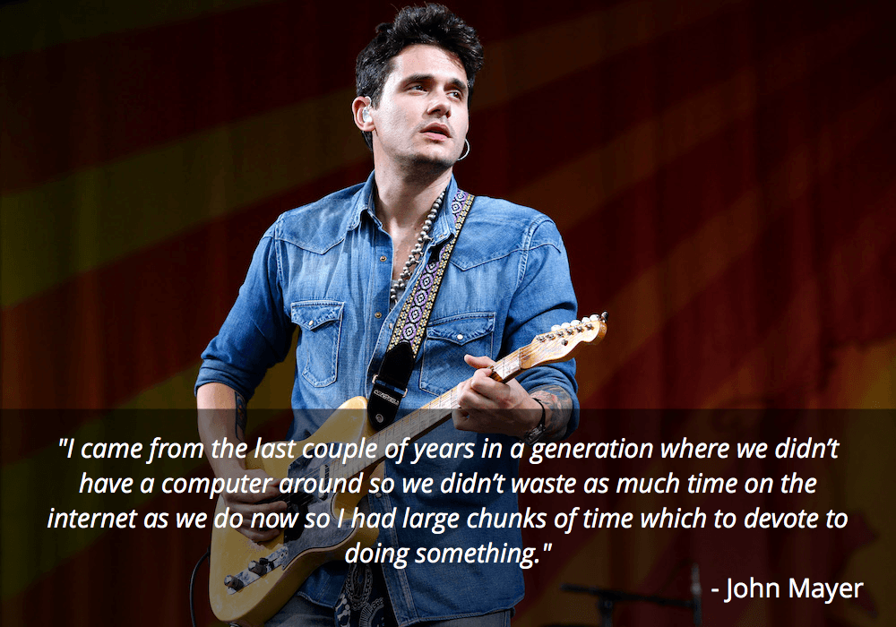 john mayer guitar quote