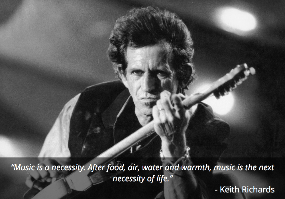 keith richards guitar quote