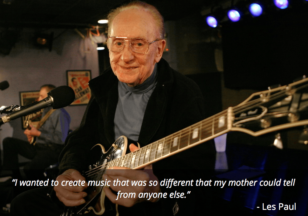 les paul guitar quote