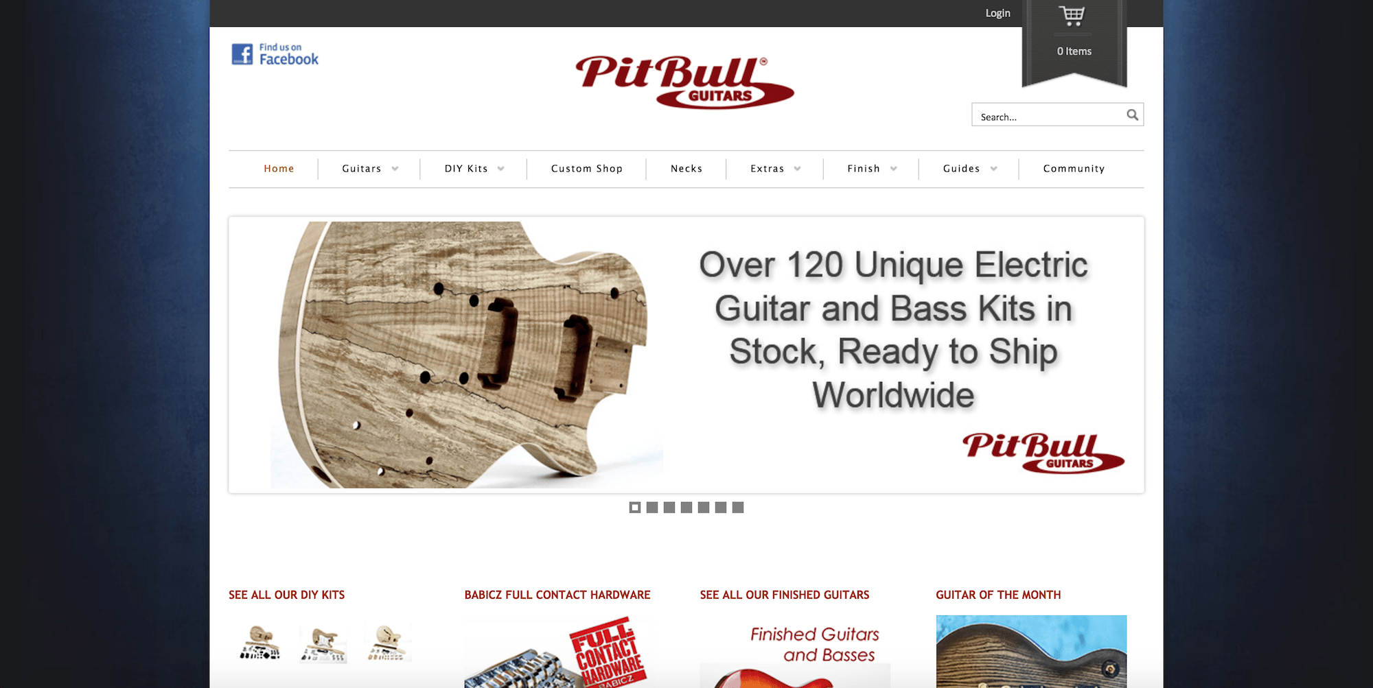pitbullguitars website