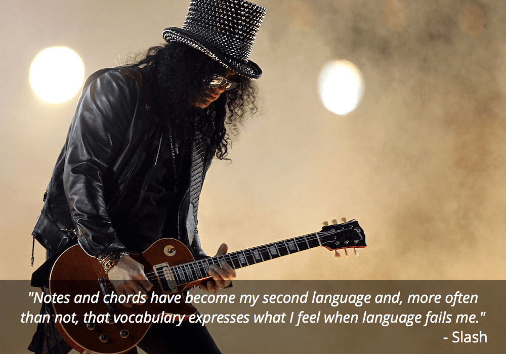 slash guitar quote