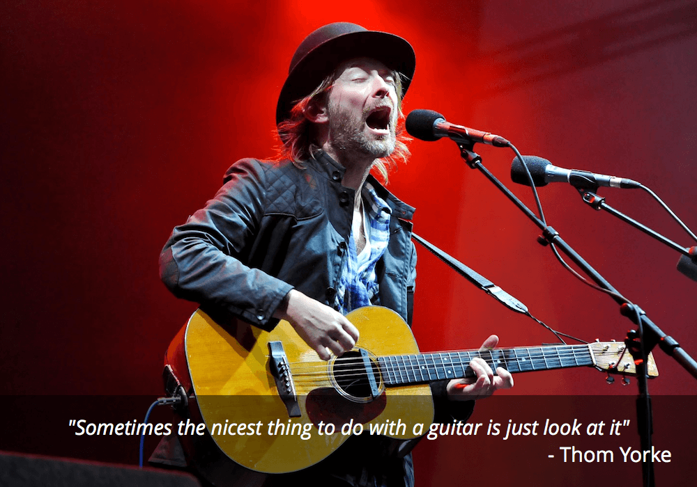 thom yorke guitar quotes