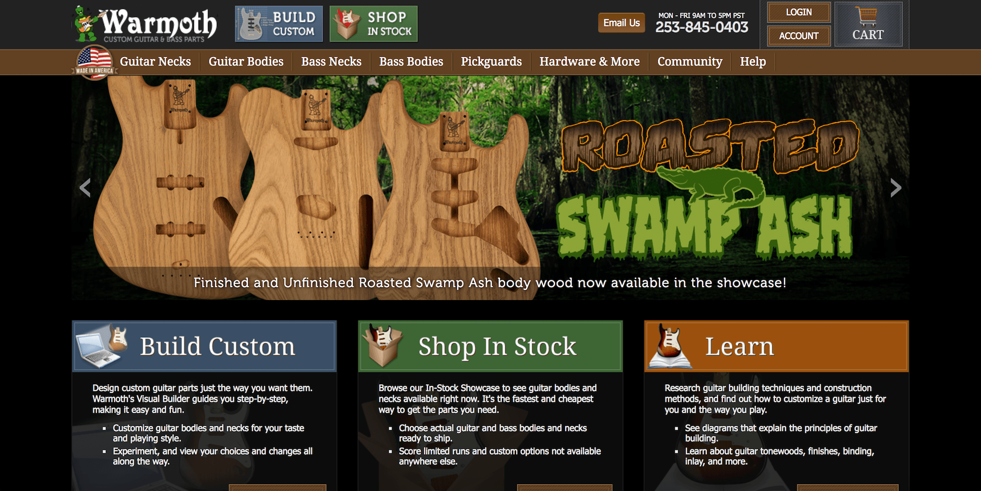 warmoth website