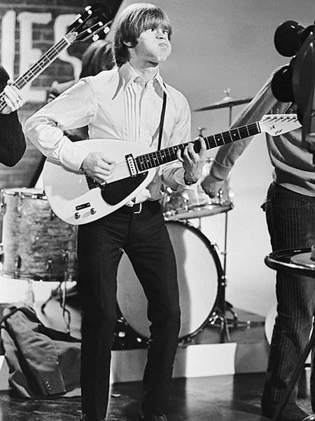 brian jones funny guitar face