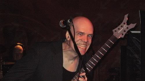 devin townsend funny guitar face