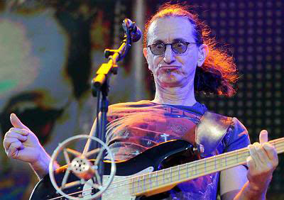 geddy lee funny guitar face
