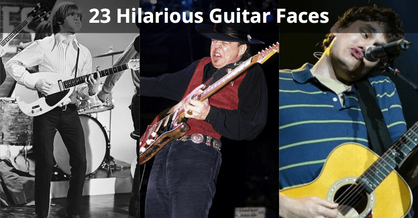 guitar faces