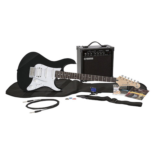 Yamaha Gigmaker EG Electric Guitar Pack with Amplifier, Gig Bag, Tremolo Bar,...