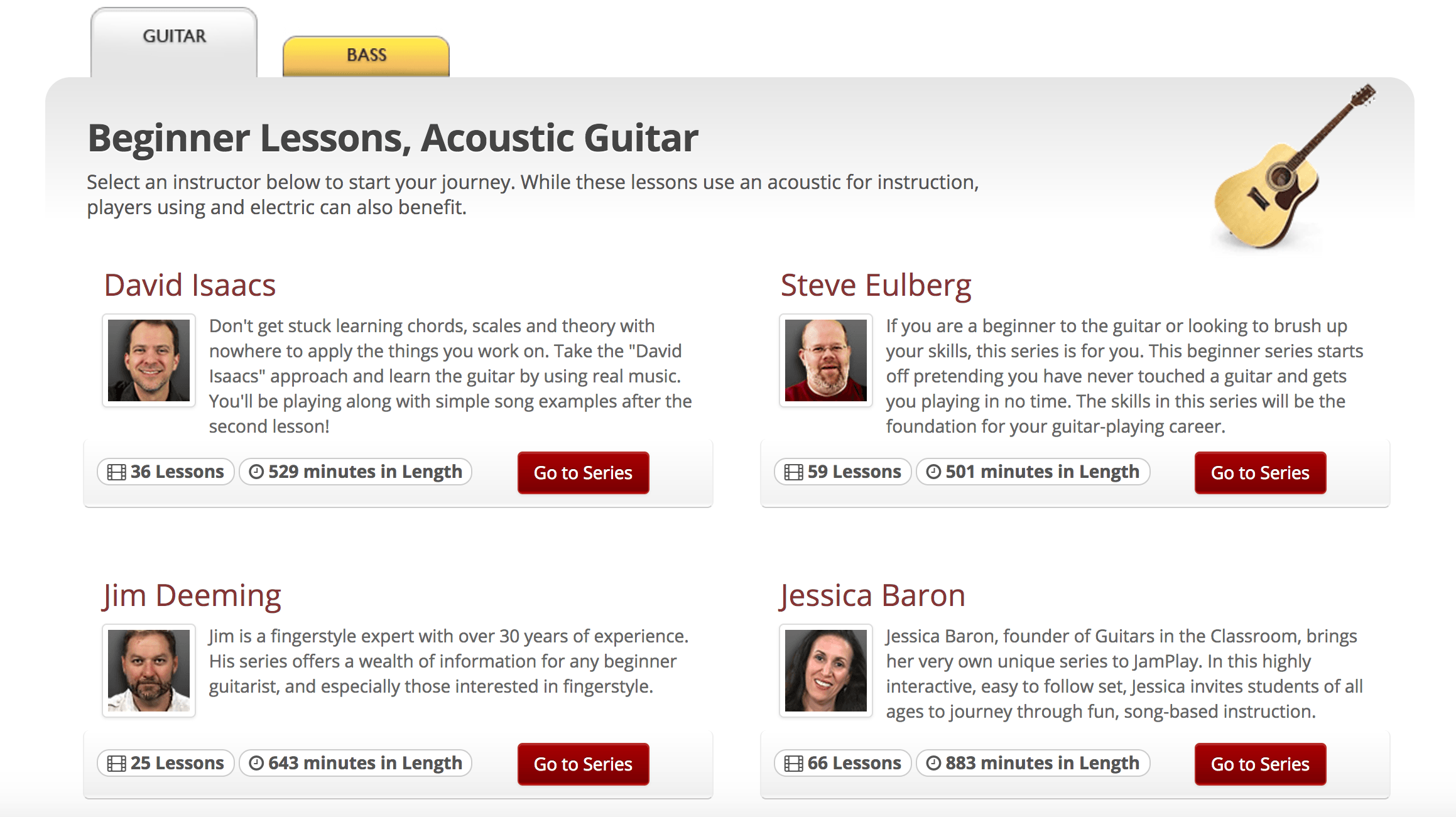 jamplay review acoustic lessons