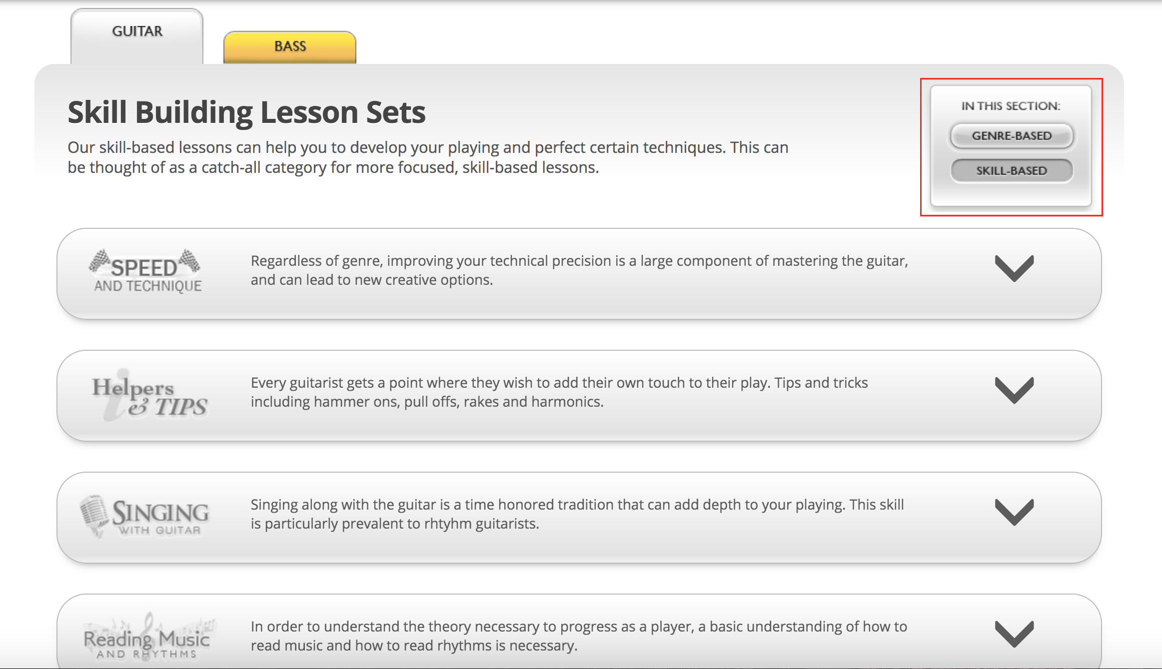 jamplay review skills lessons