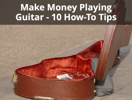 make money playing guitar