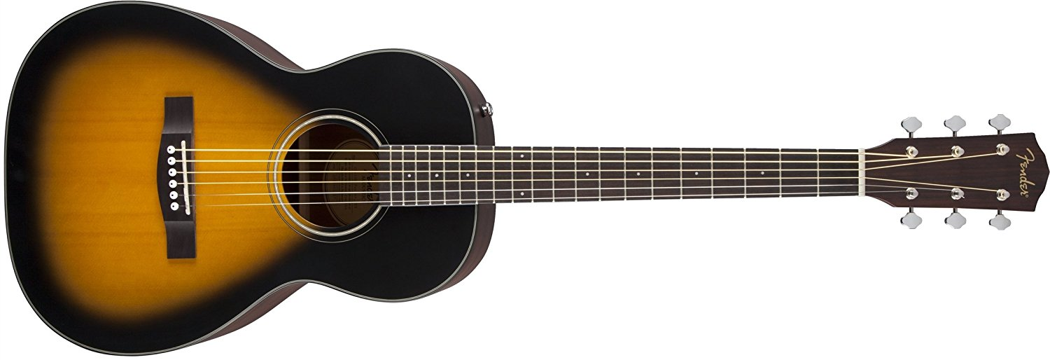 Fender CP-100 Parlor Small-Body Acoustic Guitar