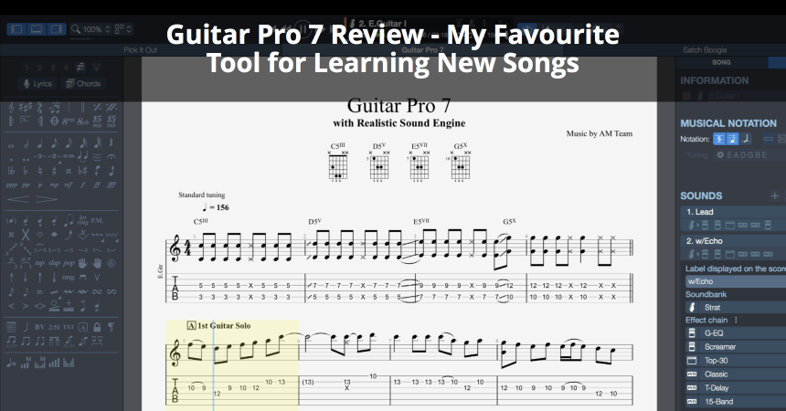 guitar pro 7 review