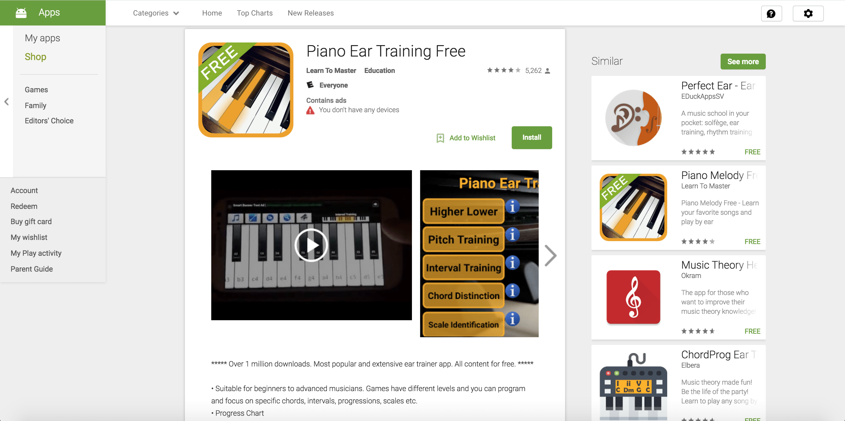 piano ear training app